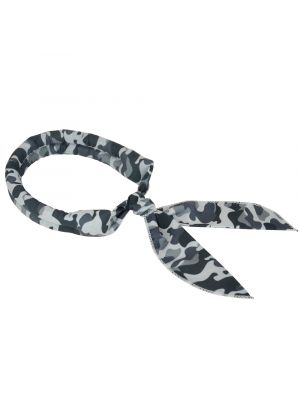 N-rit Cooling Scarf. Wrap a Soaked Tie Around Neck Head to Instantly Chill Out. Crystal Polymer Technology Keeps Cool & Reusable. Great Summer Outdoor Activities & Sports. [Black Camo] 803212726214