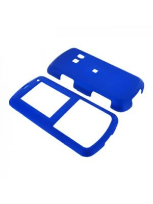 LG Banter AX265 Rubberized Hard Case - Blue
