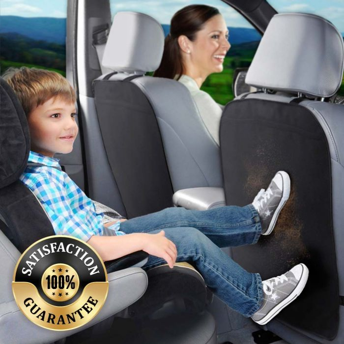 Car seat back protector cover for kids kick clean mat protects anti dirty /_WK