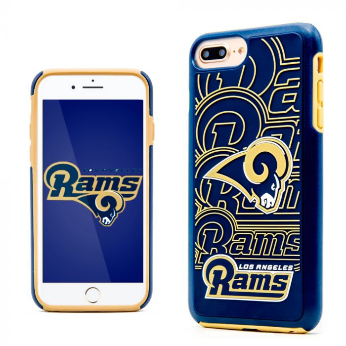 buy popular 61f8a 2a212 Made for Apple iPhone 8 Plus / 7 Plus / 6S Plus / 6 Plus NFL Case Slim Dual  layer Hybrid Hard Case on TPU Case [Los Angeles Rams] by NFL