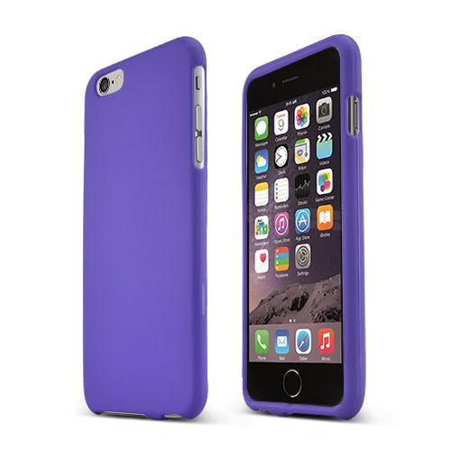 official photos a517e ff65c Made for Apple iPhone 6 PLUS/6S PLUS (5.5 inch) Hard Case [Purple] Slim  Protective Rubberized Matte Finish Snap-on Hard Polycarbonate Plastic Case  ...