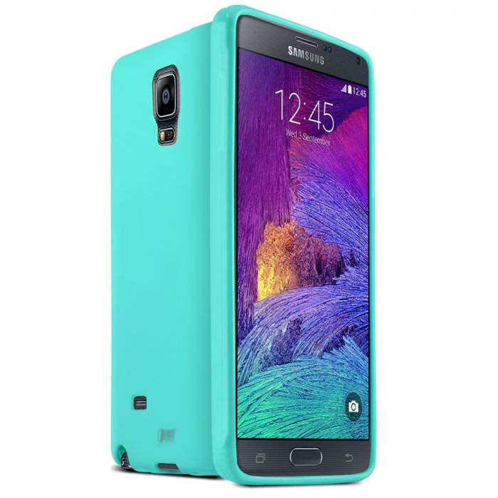 buy online 90420 20f80 Samsung Galaxy Note 4 Case REDshield [Mint] Slim & Flexible Anti-shock  Crystal Silicone Protective TPU Gel Skin Case Cover
